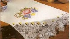 Have handmade tablecloths been history these days ?