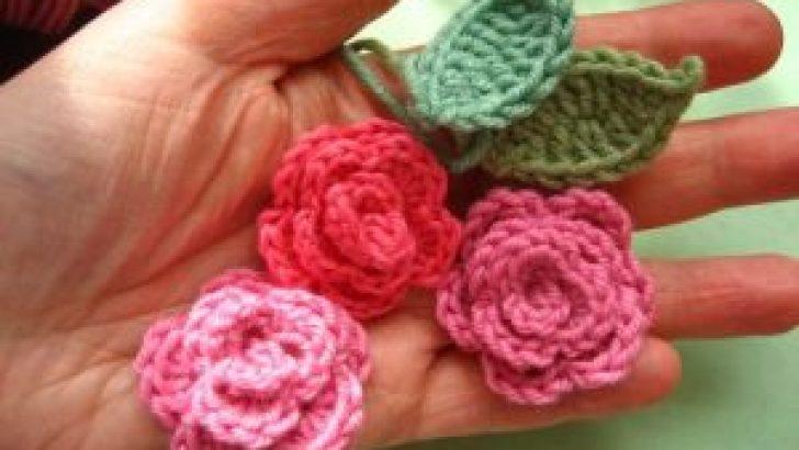 Crochet Rose Made