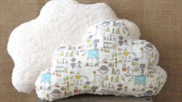 Cloud Pillow Depiction