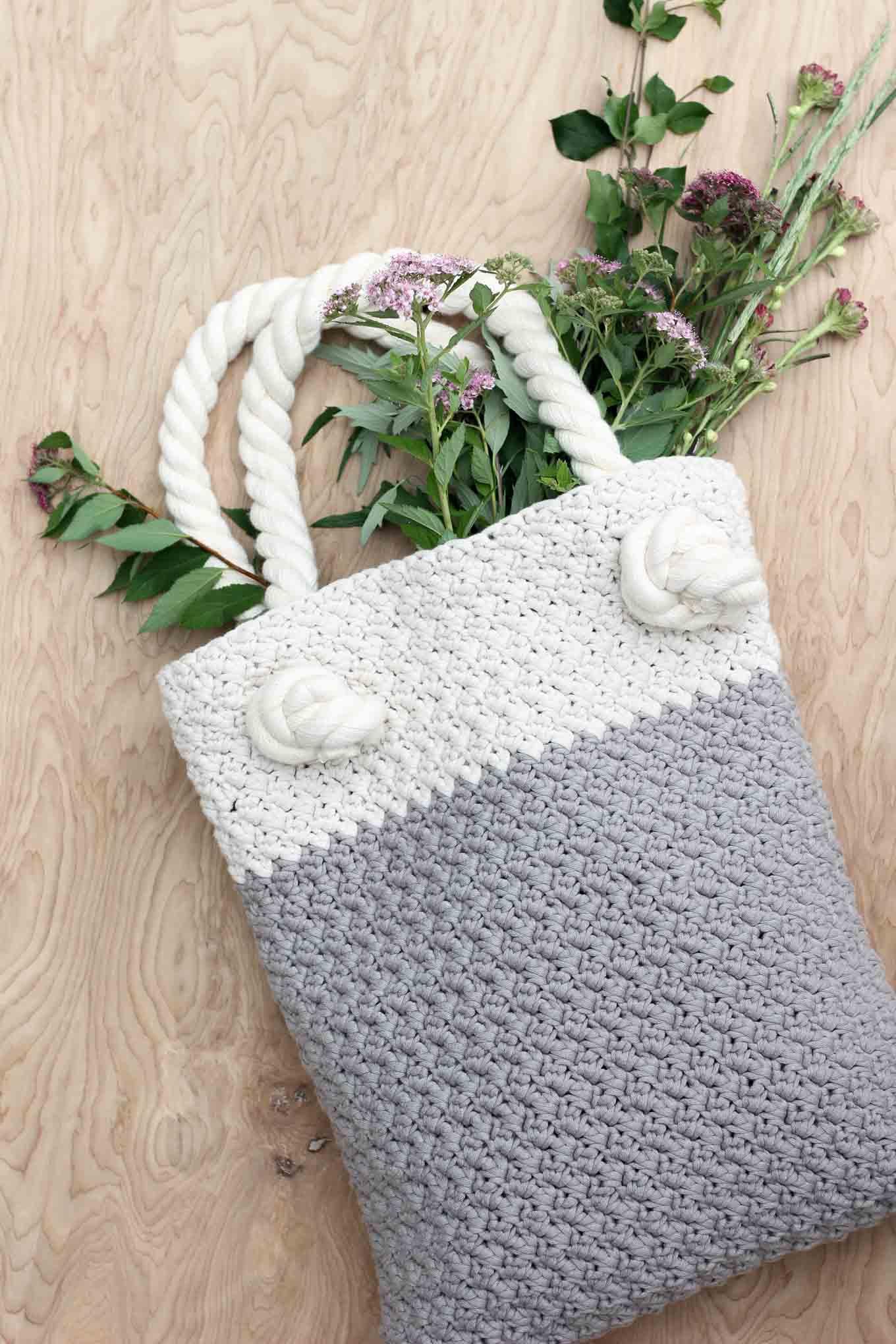 To Make The Crochet Bag Knittting Crochet