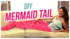 DIY Mermaid Tail Blanket  Do It