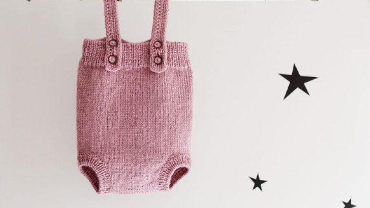 Knitting Baby Romper
