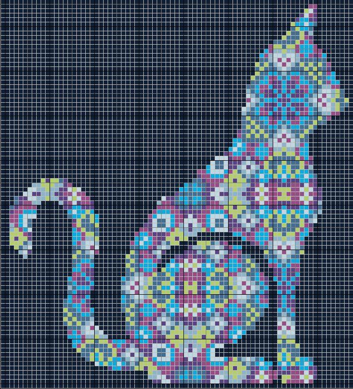 cross-stitch-patterns-free (174) - Knitting, Crochet, Diy, Craft, Free Patter...