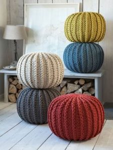 knitting pouf pattern1