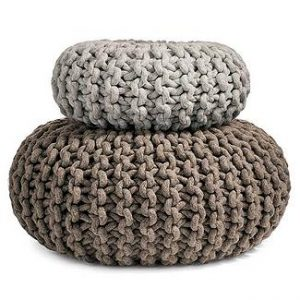 knitting pouf pattern2