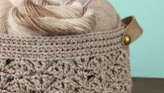 Crochet Basket Made