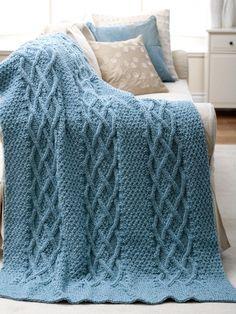 Knitting TV Blanket - Knittting Crochet