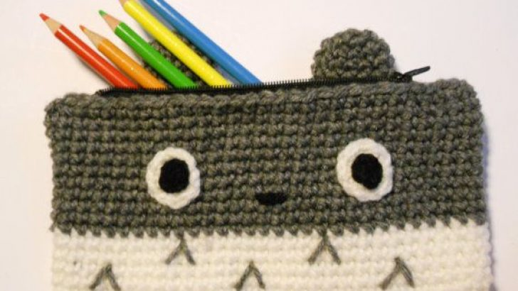 Knitting Pencil Case