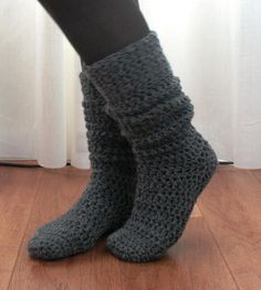 Crochet Sock & Slipper Patterns3