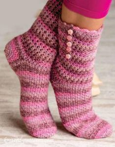 Crochet Sock & Slipper Patterns4