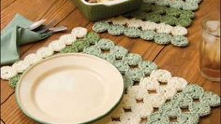 Crochet Place Mat