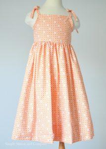 girls dress pattern2
