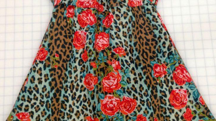 Girl Dress Patten