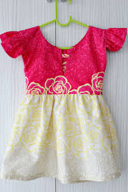 girls dress pattern5