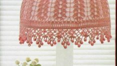 Lampshade Made of Lace