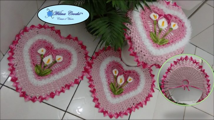 Bathroom Carpets Crochet Patterns