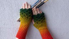 Knitted Gloves Models