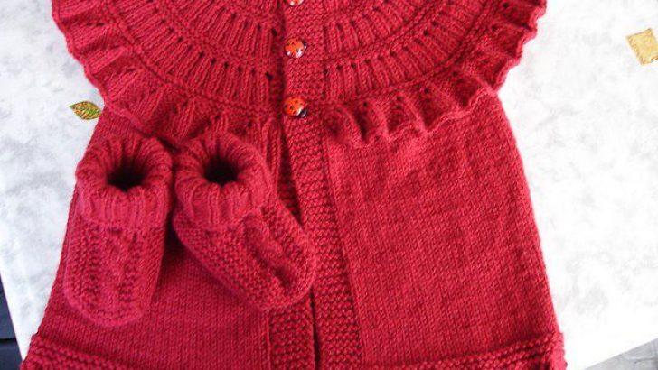 Knitting Baby Vests