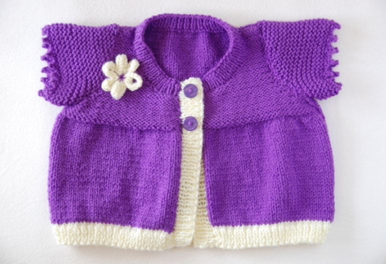 Free Knitting Patterns For Premature Babies Cardigans Drive