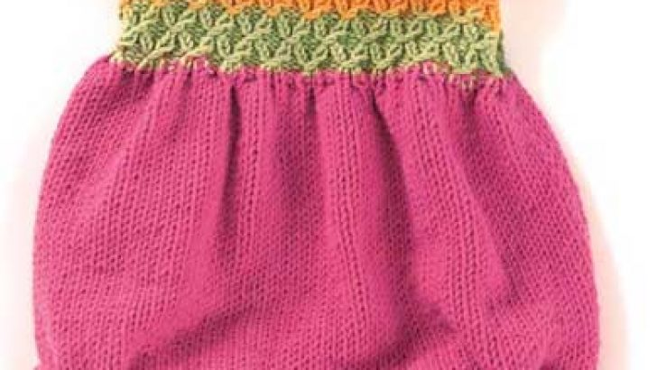 2017 Girls Knitting Clothes