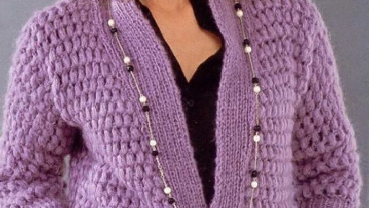 2017 Women Cardigan Knitting Patterns
