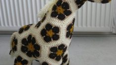 Amigurumi Made Toy Giraffe