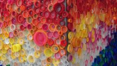 Frieze Making with Plastic Bottle Caps