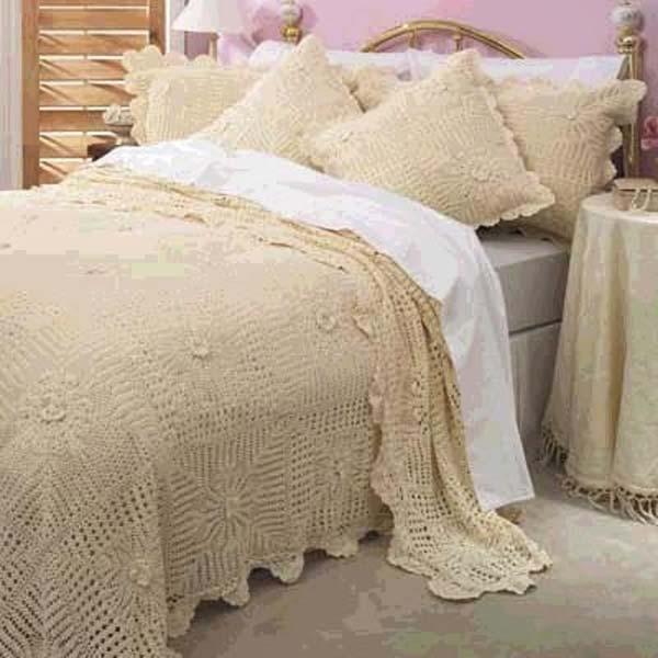 Lace Bed Covers Knittting Crochet Knittting Crochet