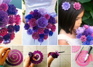 Make With Paper Flower Bouquet Knittting Crochet