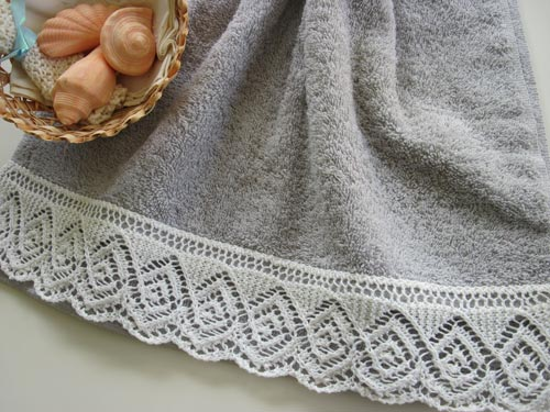New Lace Towel Edge Patterns Knittting Crochet Knittting Crochet