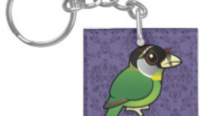 Tufted Keychains