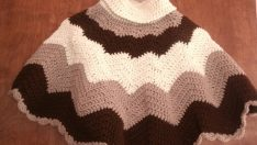 Knit Poncho Baby  Patterns