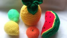 Knitting Refrigerator Decorations Patterns