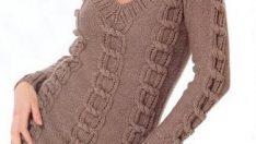 Knitting Women's Sweater Dresses