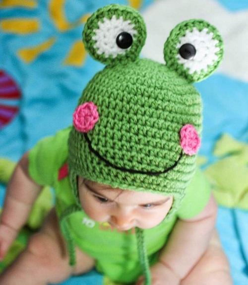 Crochet Baby Hat Animal Patterns : Animals Figured Patterns Hat Baby - Knitting, Crochet, D?y ...