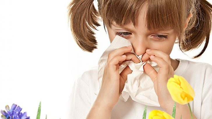 What causes allergies in babies?