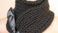Crochet Black Color Scarf Patterns