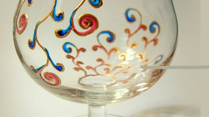 Handmade Glass Painting