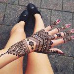 indian-henna-tattoo-model