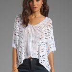 knitting-summer-ladies-blouse-patterns