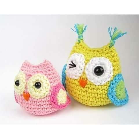 Free Amigurumi Knitting Patterns For Beginners : Amigurumi Owl Free Pattern - Knitting, Crochet, Diy, Craft ...