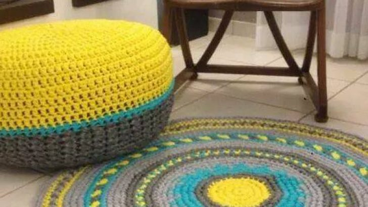 Knitting mop pillow pattern