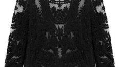 Hollow Crochet Lace Blouse