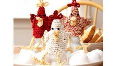 Bernat Chicken Egg Cozies