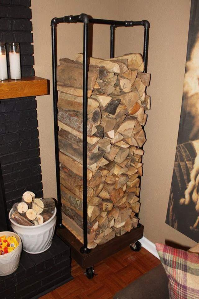 Как сделать дровник для хранения дров самостоятельно - Очаг. ру