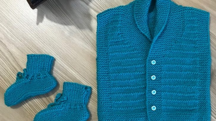 Knitted Baby Vest, Cardigan, Sweater Patterns
