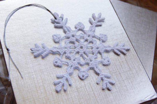 Knitted Snowflake Pattern Free Knittting Crochet Knittting Crochet