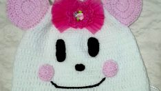 Knit a baby hat pattern – baby-faced hat