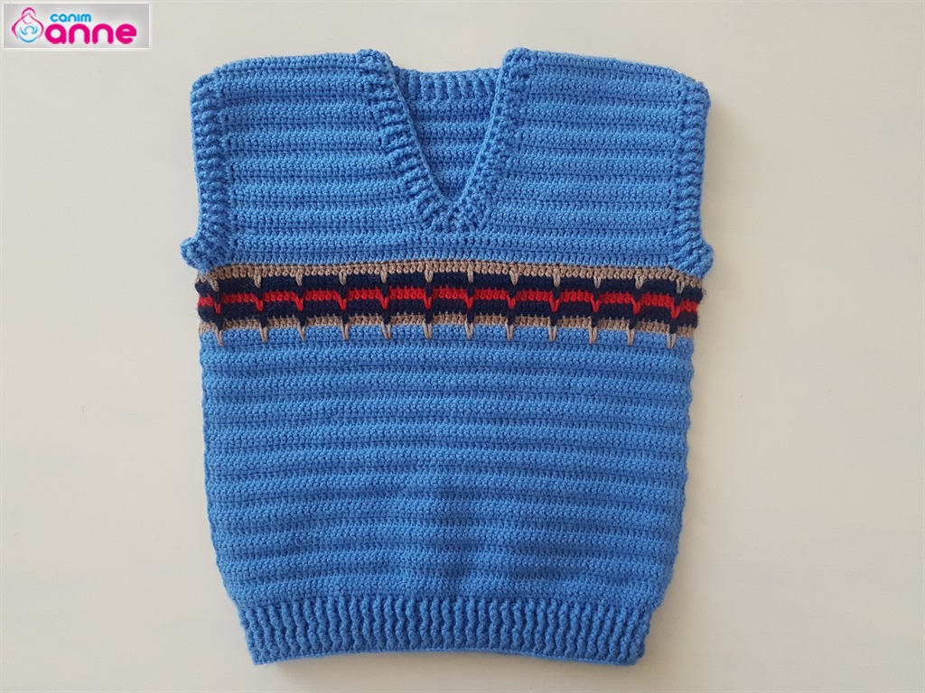Knitted Boys Baby Sweater Free Pattern Knittting Crochet