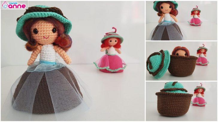 Amigurumi cupcake baby doll pattern free